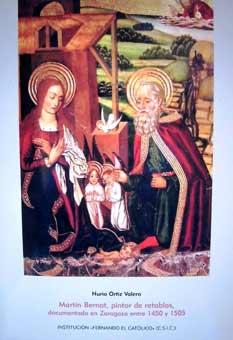 Martín Bernat, pintor de retablos, documentado en Zaragoza entre 1450 y 1505