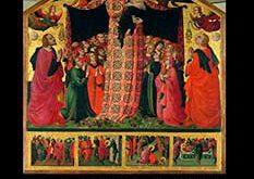 Virgen de Misericordia en el arte medieval italiano