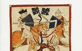 Storie al muro. Temi e personaggi della letteratura profana nell'arte medievale